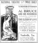 Al Bruce & His Rosebuds [EN 24 May 1918, 8]
