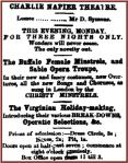 Buffalo Female Minstrels [SBAL 10 Dec 1860, 3]