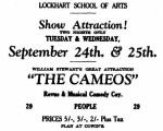Cameos - ad [LROA 17 Sept 1935, 5]