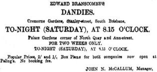 Edward Branscombe's Dandies AVTA