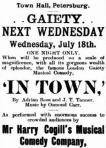 Harry Cogill's NMCC - advert [PBT 13 July 1900, 2]