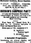 Hudsons Surprise Party [BW 26 Apr 1879, 3]