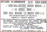 Jules Garrison [KM 1 June 1912, 10]