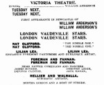 Willliam Anderson's London Vaudeville Stars [NMH 30 Apr 1910, 8]