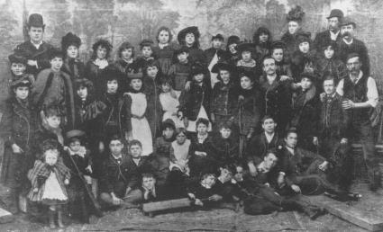 Pollard's Lilliputians - 1891 [Downes]