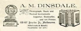 A. M. Dinsdales [Public RO, Vic]