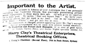 Clay's Theatrical Enterprises [1917]