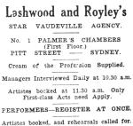 Lashwood & Royley [AV 12 Apr 1916]