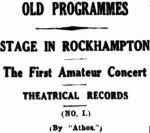 Old Programmes No 1 [MB 9 Sept 1933, 3]