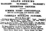 Summer Continentals - ad [BC 26 Sept 1908, 2]