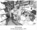 Will Andrade shop - Syd 1971 [Job, 118]