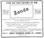Zenda ad [TT Dec 1909, 29]