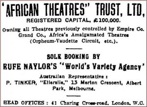 African Theatres [R 5 Nov 1913, 15]