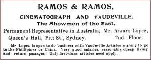 Ramos & Ramos ad [TT Sept 1910, 9]